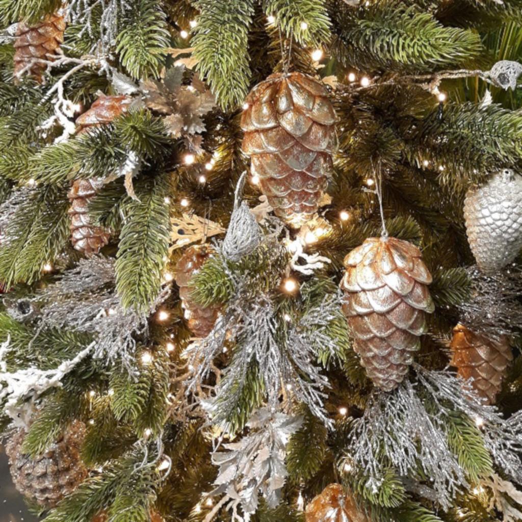 Wunderschöner Weihnachtsbaumschmuck