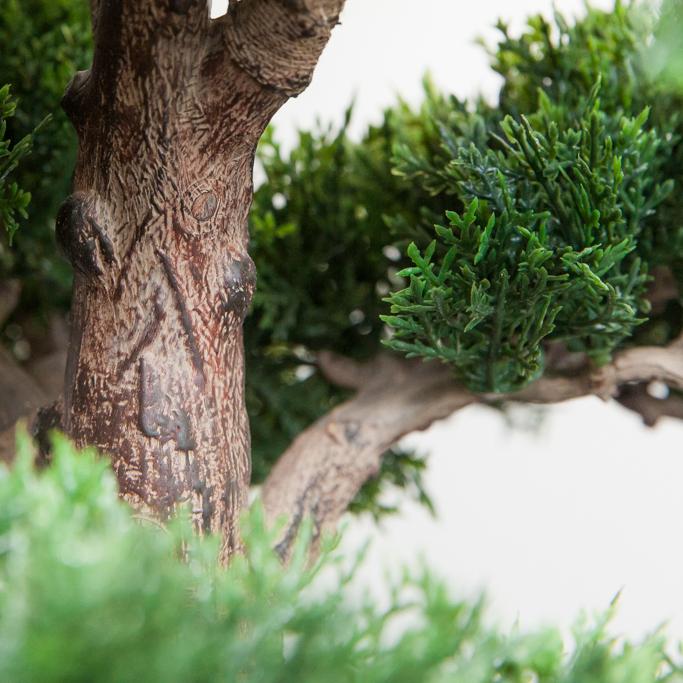 Kunstbäume von hoher Qualität, detailgetreu verarbeitet