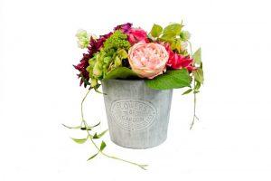 Blumenarrangement rosa