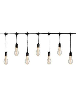 LEDww Lichterkette mit Glühbirnen 9,5m