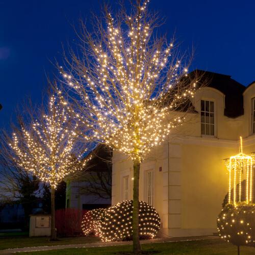 Weihnachtsbeleuchtung Privat