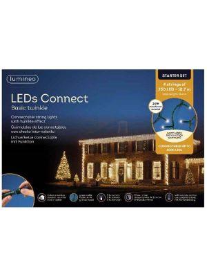 Weihnachtsbaum LED-SET 4x