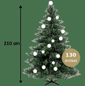 Weihnachtsbaum 210