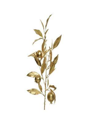 Granatapfelzweig Gold
